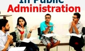 Online Master in public Administration