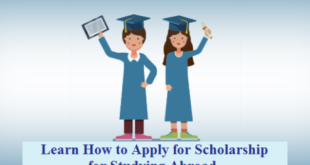 How to Apply for Scholarship for Studying Abroad