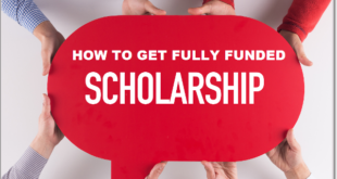 how to get fully funded scholarships